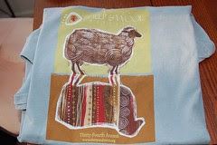 MD Sheep and Wool t-shirt