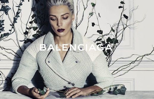 LE FASHION BLOG BALENCIAGA SS 2014 AD CAMPAIGN MODEL DARIA WERBOWY BY STEVEN KLEIN SPRING SUMMER COLLECTION SHORT BLEACH BLOND HAIR PIXIE CUT SLICKED BACK DARK VAMPY LIPSTICK BOUCLE MOTO STYLE CONTRAST SLEEVES 3 photo LEFASHIONBLOGBALENCIAGASS2014ADCAMPAIGNDARIAWERBOWYBYSTEVENKLEIN3.jpg