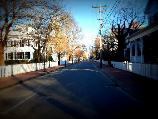 Edgartown News, ghost town