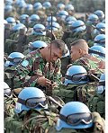 capacetes azuis