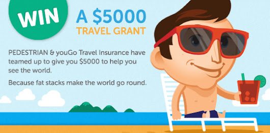 youGo Travel and Pedestrian.TV $5000 Travel Grant