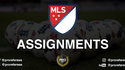 MLS Assignments: Playoffs – Knockout Round – Professional Referee Organization