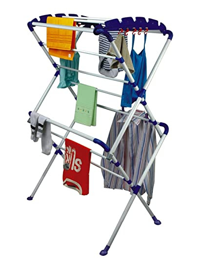 PAffy Cloth Dryer Stand - Sumo - Large - Very Easy To Assemble (Lifetime Warranty*MADE IN INDIA)