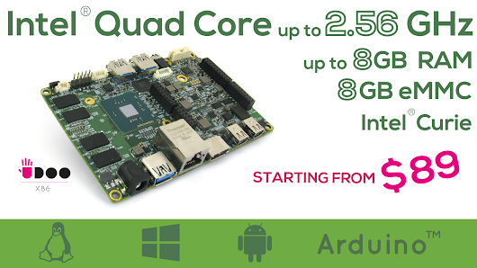 UDOO X86: The Most Powerful Maker Board Ever
