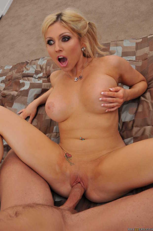 Blonde Big Tits Doggystyle