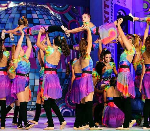 Resultado de imagen de grupo coreográfico loli pérez