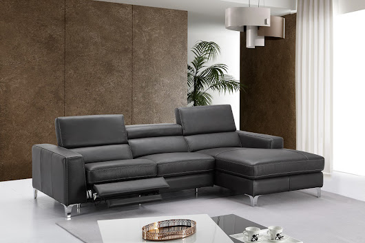High-class All Italian Leather Sectional Sofa