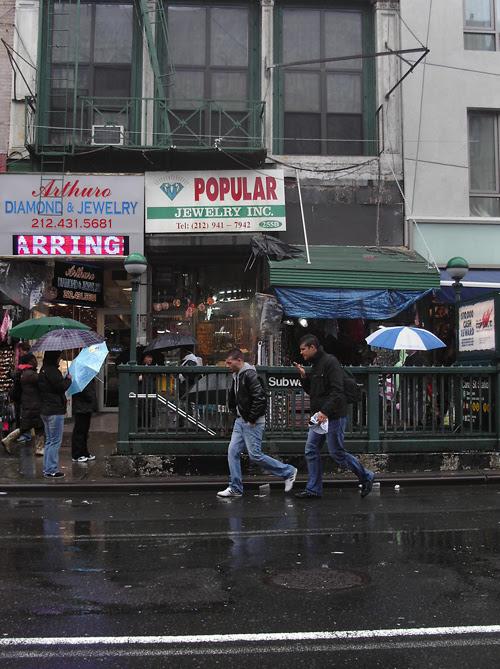 Rainy Canal Street