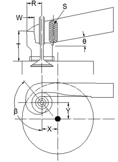 Design and Analysis of Intake Port of Diesel Engine for