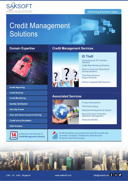 Saksoft Credit Management Solutions