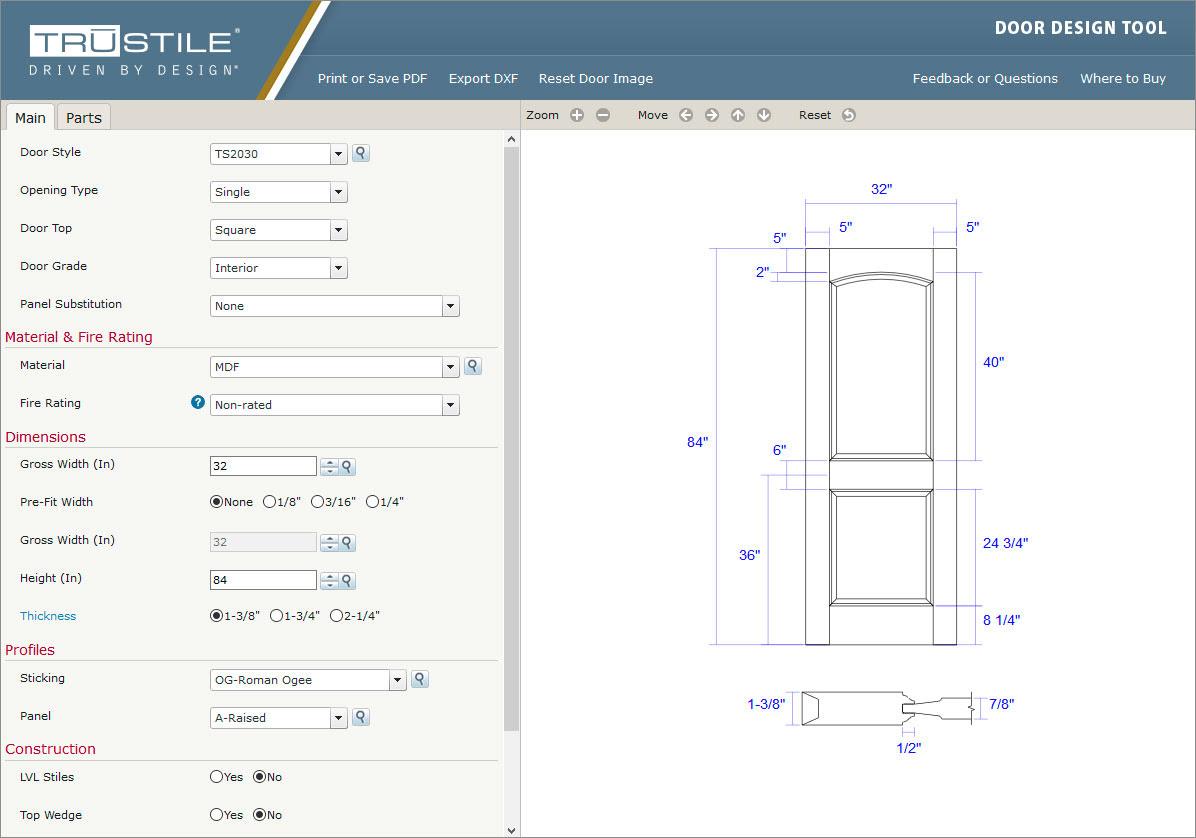 door design tool  | 1280 x 960