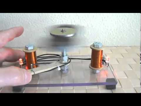 Ứng dụng nam châm trong chế tạo máy phát điện đơn giản