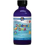 Nordic Naturals Children's DHA Strawberry - 4 fl oz bottle