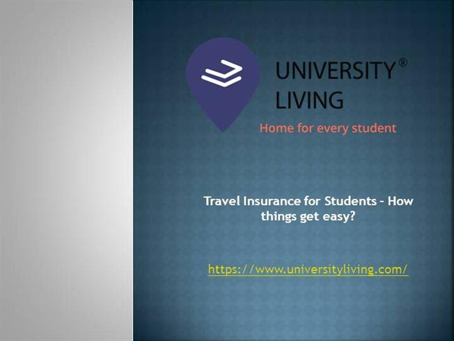 Travel Insurance for Students - how Things Get Easy ...