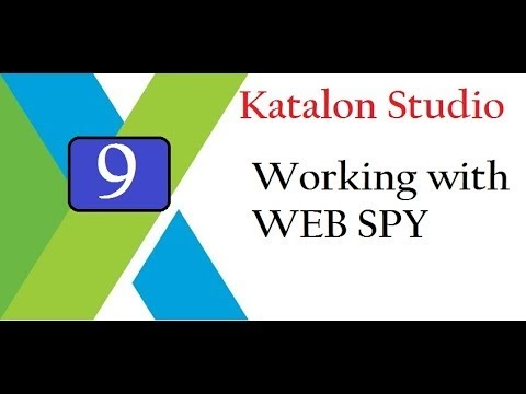 Katalon Studio: Work with Object Spy | Store Objects to Repository - TKA