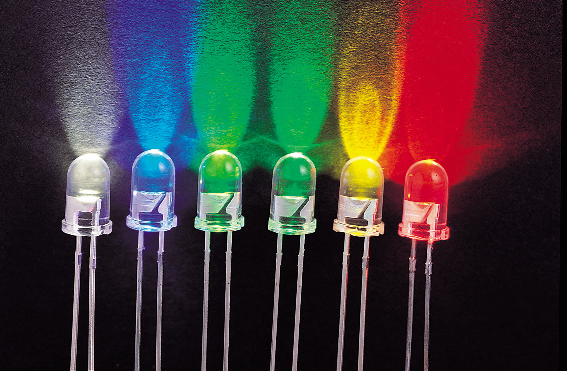 Different Color Types In LEDs