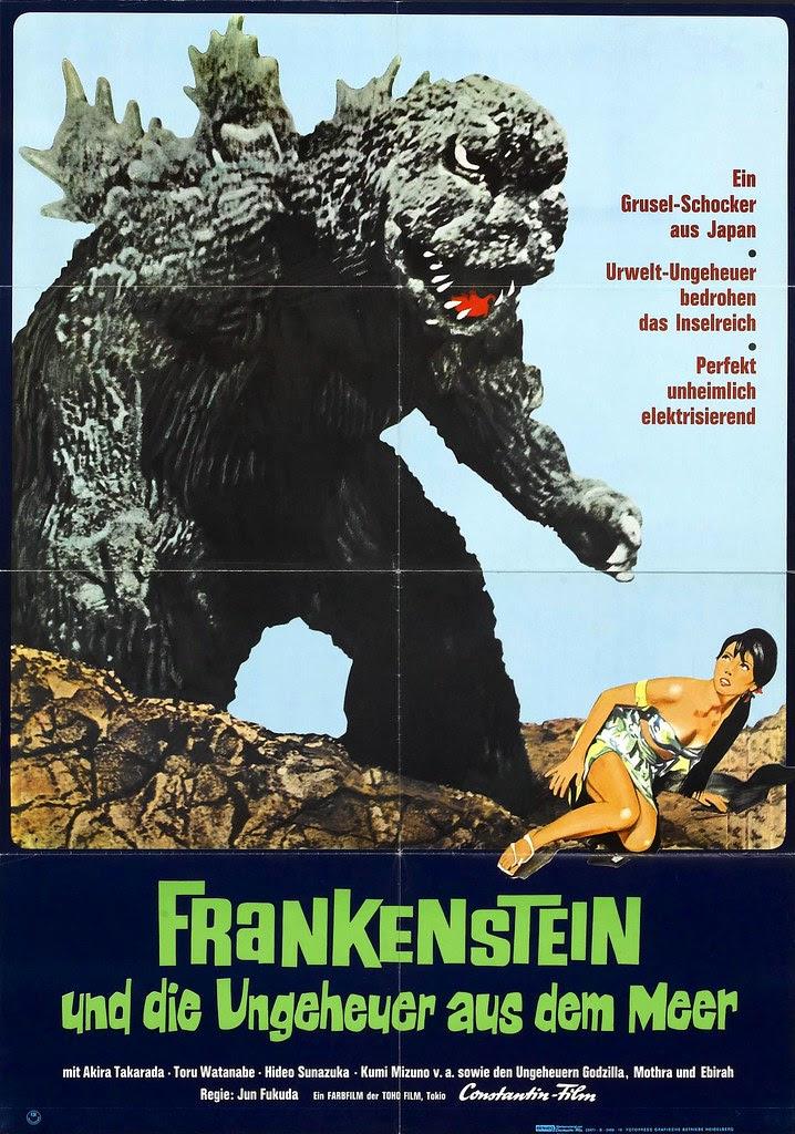 Godzilla vs. the Sea Monster, 1966, German