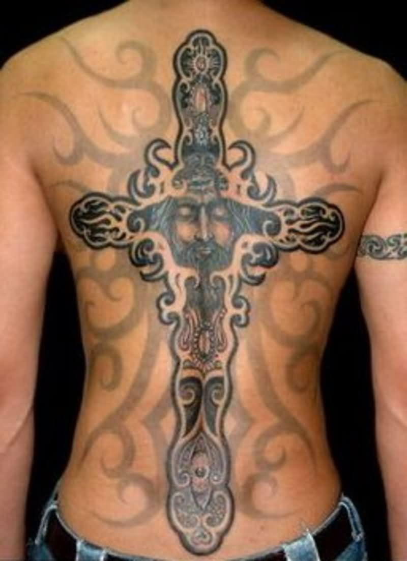 10 Christian Tattoos On Upper Back