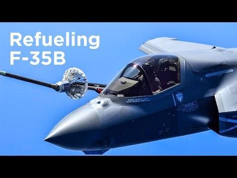 Italian F-35B Air Refuelling