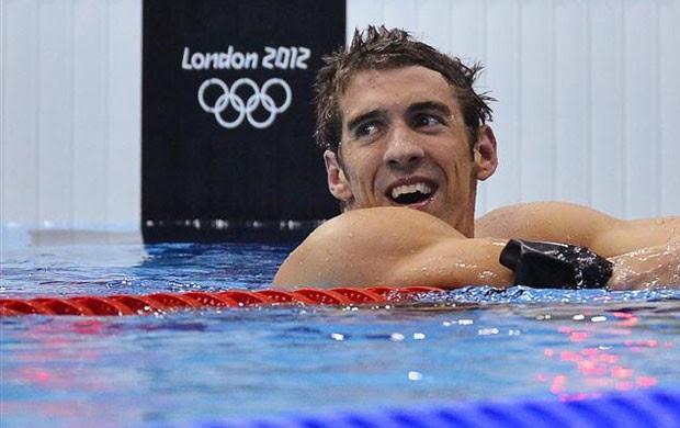 Michael Phelps natação 4x200 Olimpíadas 2012 (Foto: Reuters)