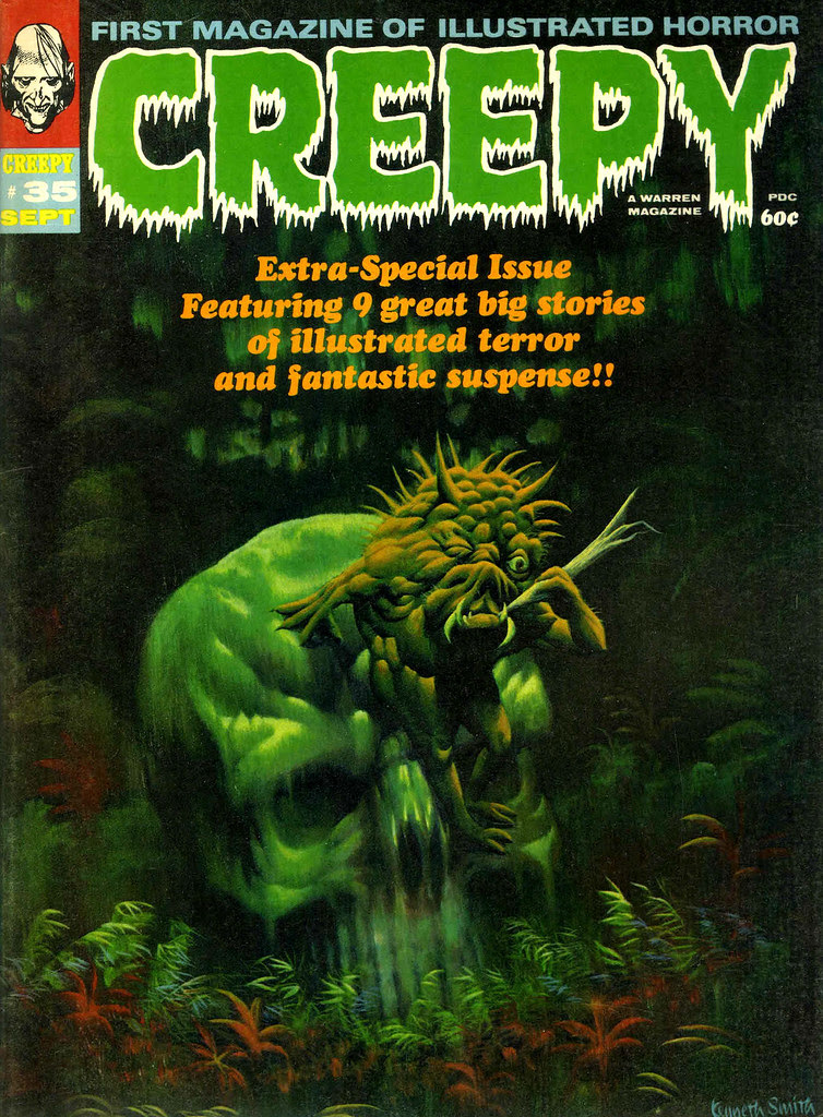 Kenneth Smith - Creepy #35 (Warren, 1970)
