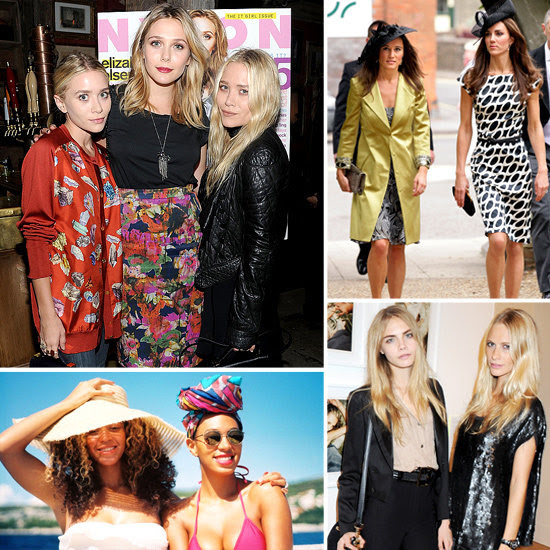 Stylish Celebrity Sisters