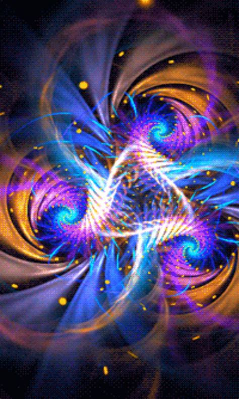 animated fractal art  android