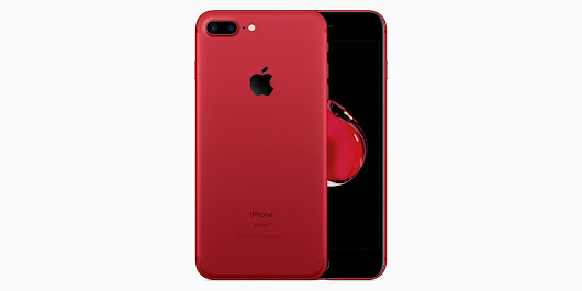 iPhone concept design reimagines new 'red' model with neat black front
