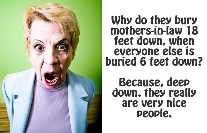 21 Hilarious Quick Quotes To Describe Your Mother In Law