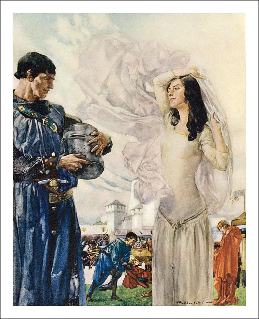 William Russell Flint, Le morte Darthur