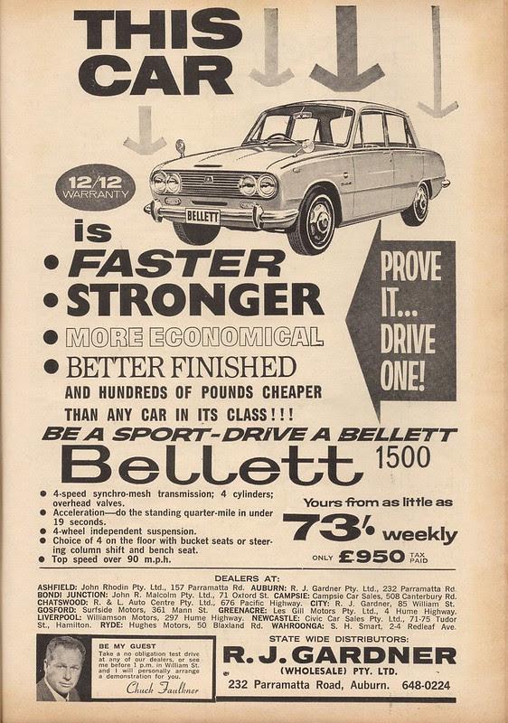 Izusu 1964 advertisement