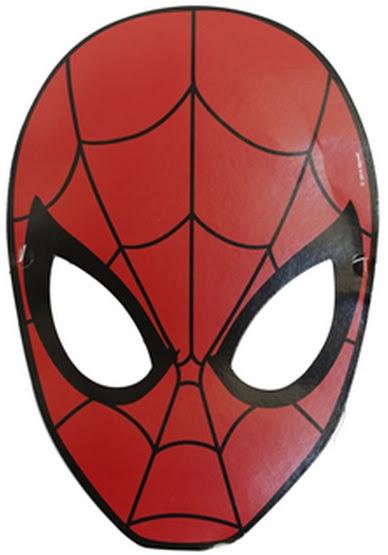 Kağıt örümcek Adam Maskesi