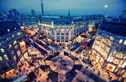 Oxford Circus Crossing por isayx3