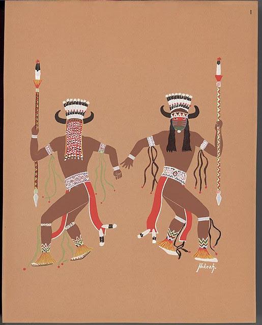 Buffalo dance, 1929 - Jack Hokeah