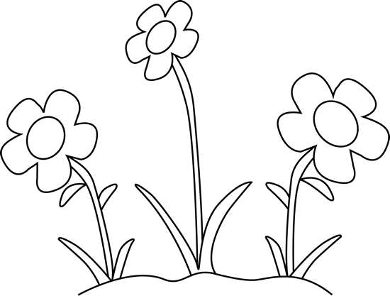 Free Flowers Black And White Clipart Download Free Clip Art Free