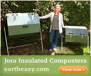 Jora Insulated Compost Tumblers - Eartheasy.com