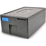 Vollrath VEPP106 Full-Size Insulated Food Carrier - Expanded Polypropylene - Black