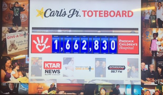 More than $1.66M raised for Phoenix Children's Hospital during Give-A-Thon