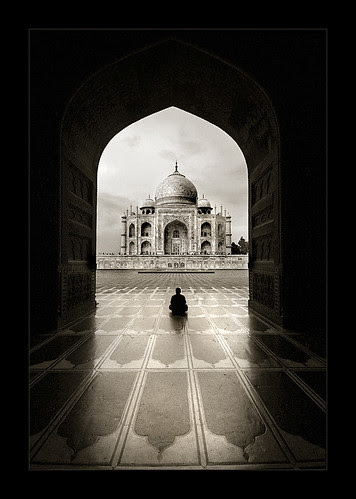 Solitude (Taj Mahal) por Thamer Al-Tassan