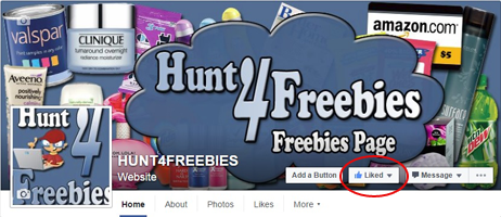 How To Make Sure You See Hunt4Freebies On Facebook - Hunt4Freebies