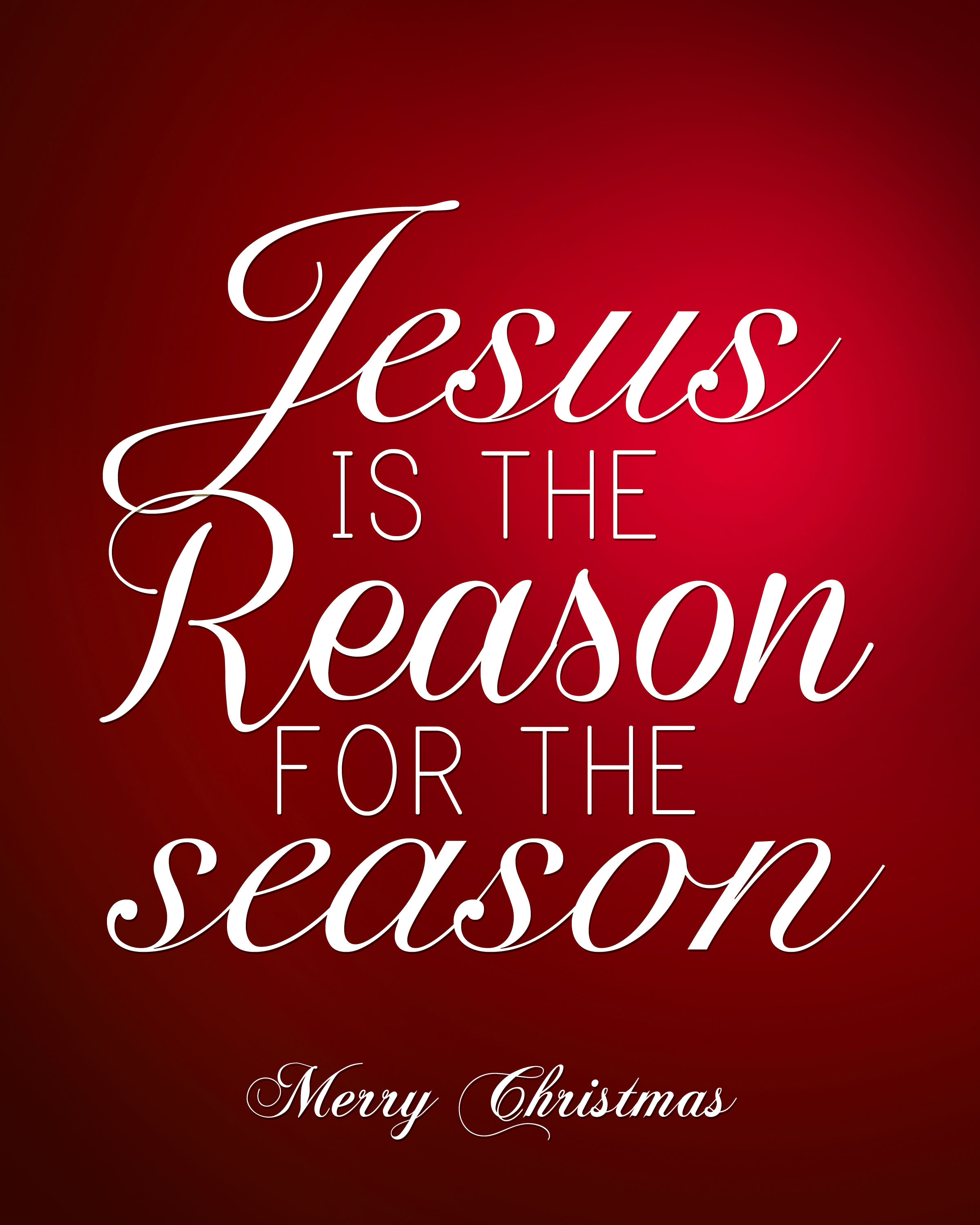 Jesus is the Reason for the Season Quote