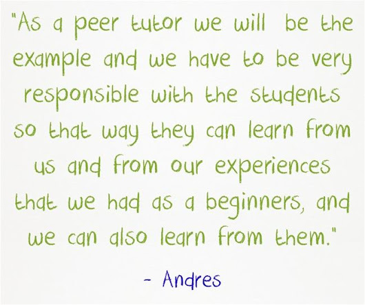 Guest Post: Advanced ELLs Write About Their Summer School Experience Tutoring Newcomers