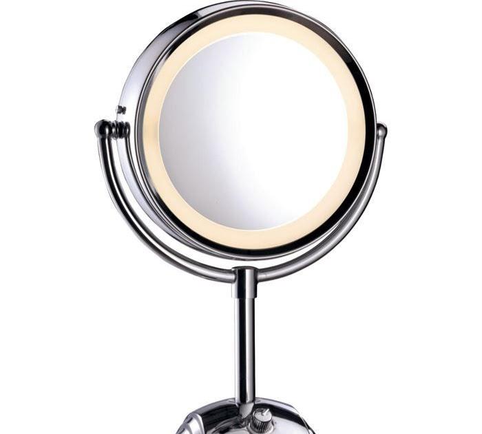 le parfum de la beaut miroir grossissant x10 lumineux pas cher. Black Bedroom Furniture Sets. Home Design Ideas