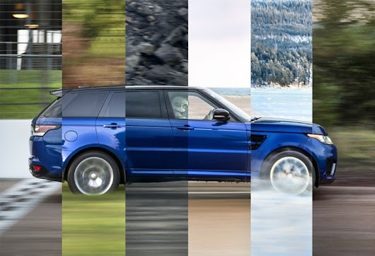Tweaked Performance Styling for 2017 Range Rover Sport
