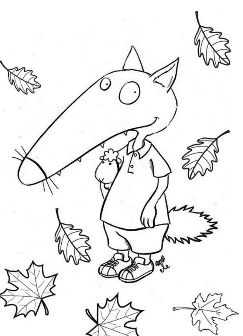 Frais Coloriage Petit Loup Imprimer Imprimer Et Obtenir Une