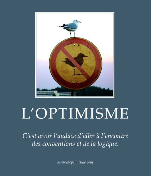 L'audace de l'optimisme - Source d'Optimisme