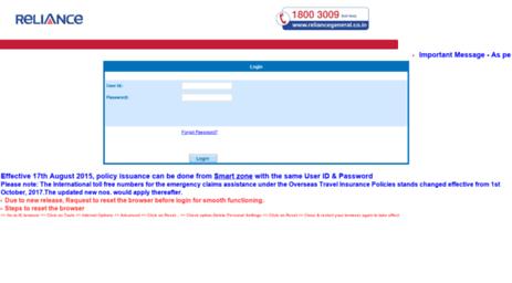 Visit Imd Reliancegeneral Co In Login Verify Page Online