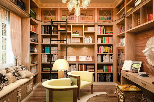35+ Breathtaking Home Library Designs (Photos) - Home Stratosphere