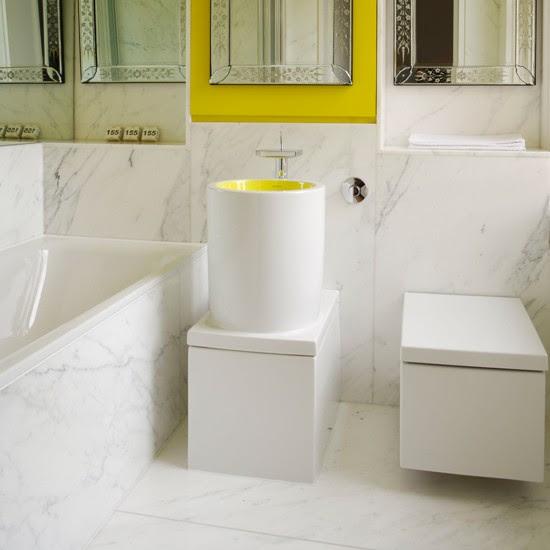 Dramatic marble | Bathroom flooring ideas | housetohome.co.uk
