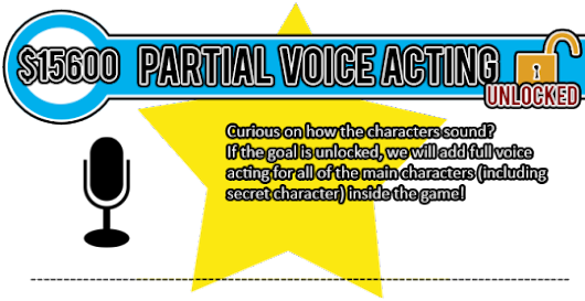 Partial VA goal reached! A new batch of stretch goals have been posted!